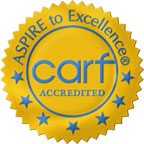 CARF Gold Logo